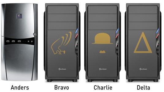 LAN PCs